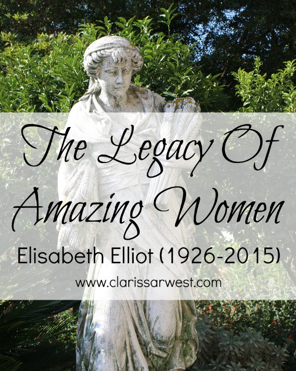 What We Can Learn From Elisabeth Elliot