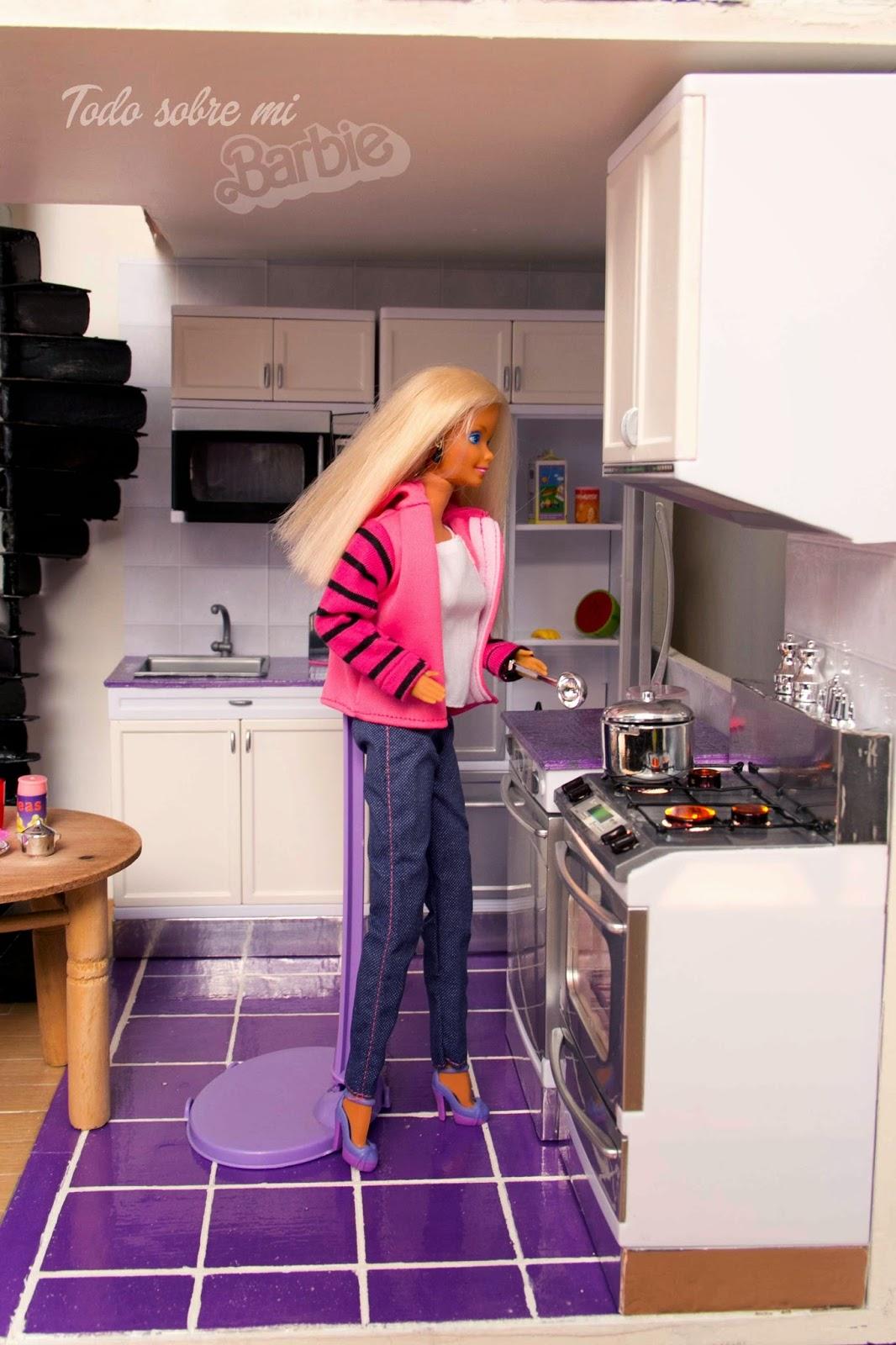 Todo sobre mi barbie c mo pintar muebles de pl stico cocina - Todo sobre la cocina ...