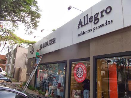 FACHADA EM ACM LETRAS CAIXA LOJAS STALKER  ALLEGRO SÃO JOSÉ DOS CAMPOS-SÃO PAULO