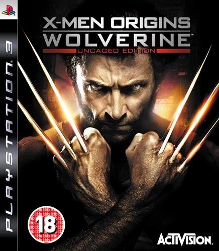 X-MEN ORIGINS: WOLVERINE PS3