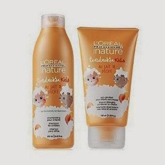 Shampoo para cabello rizado para ninos