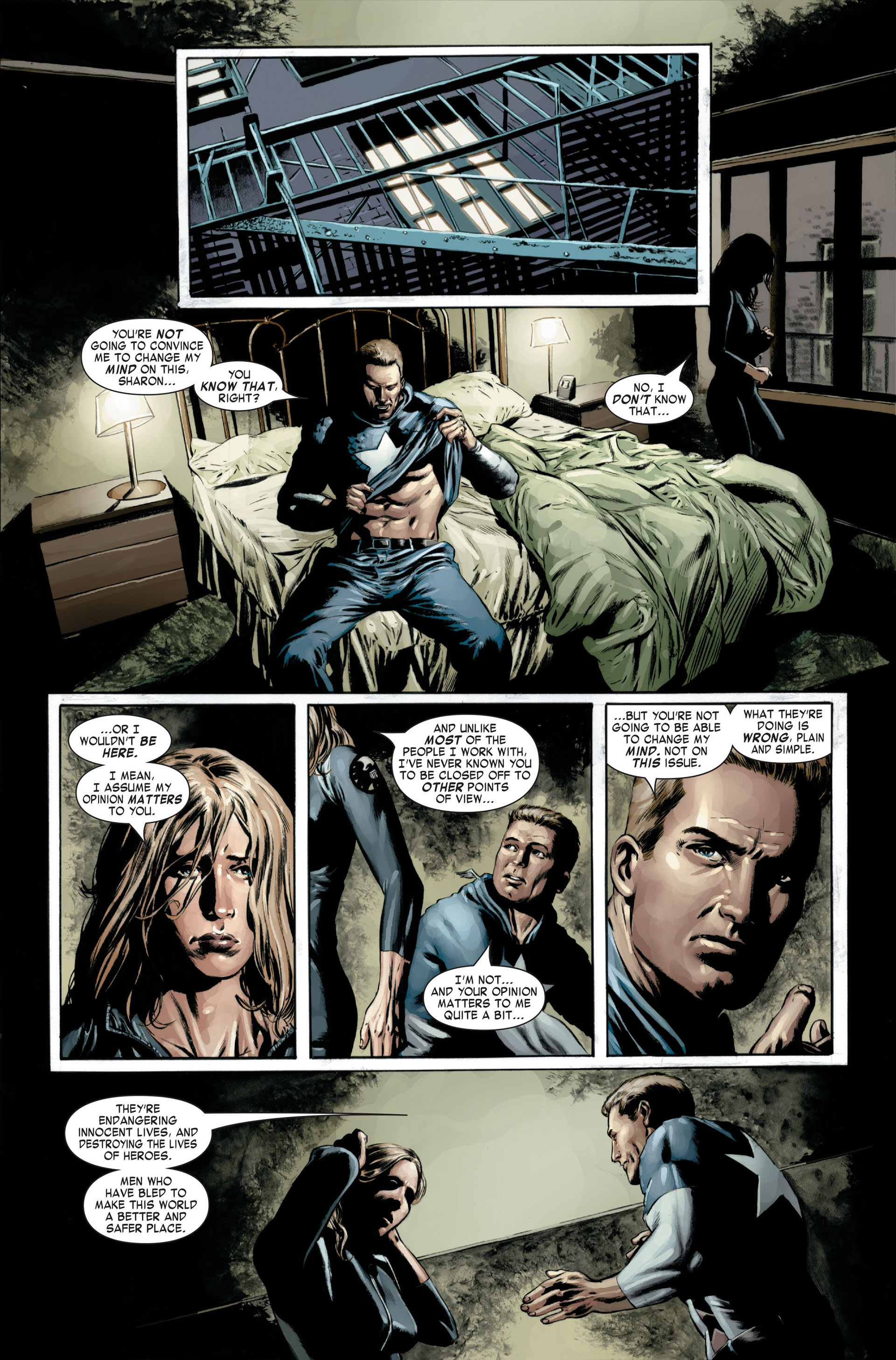 Captain America (2005) Issue #22 #22 - English 13