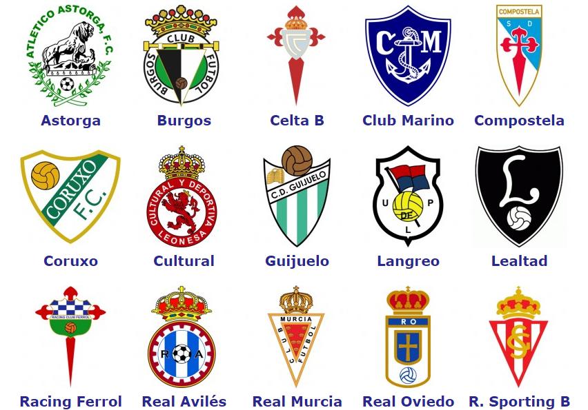 World Football Badges News Spain Segunda Division B