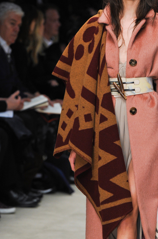 Carla Ciffoni Burberry Prorsum Autumn Winter 2014 show London fashion week