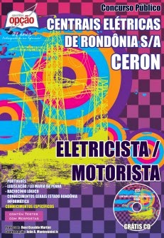 Apostila Centrais Eletricas de Rondonia CERON Eletricista Motorista 2014
