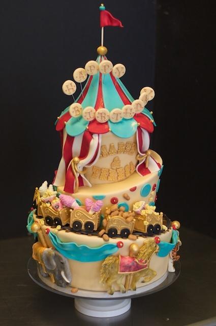 Clown Cakes Non Fondant