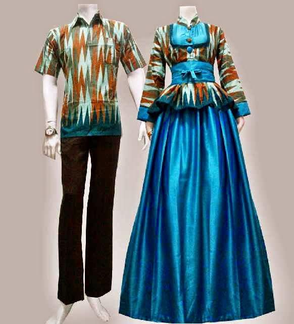 Sarimbit Baju Gamis Batik Uma Batik Bagoes Solo Baju Gamis Batik