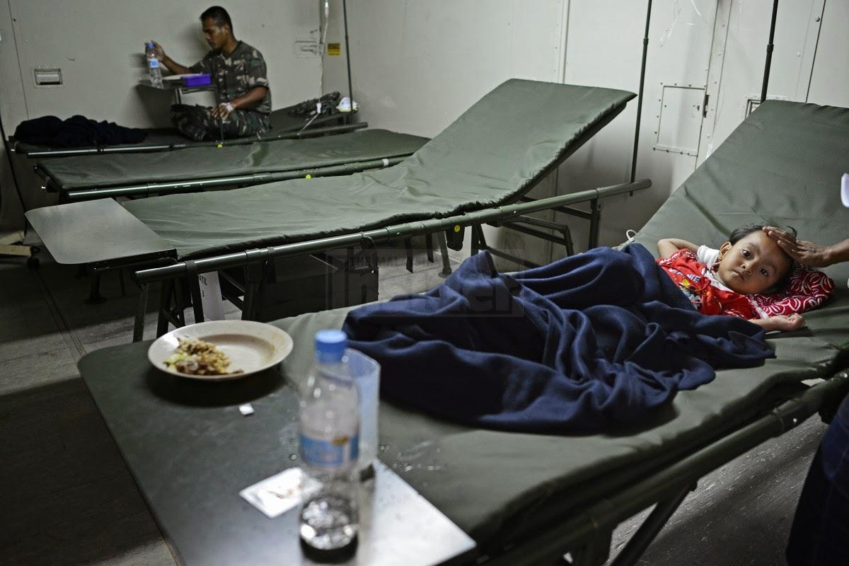 Banjir di kelantan macam tsunami, kata doktor tentera