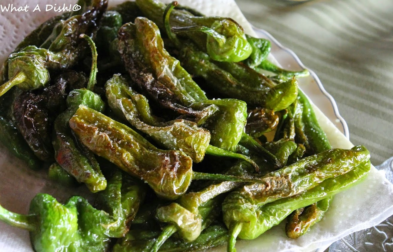 Recently- Pimientos de Padron