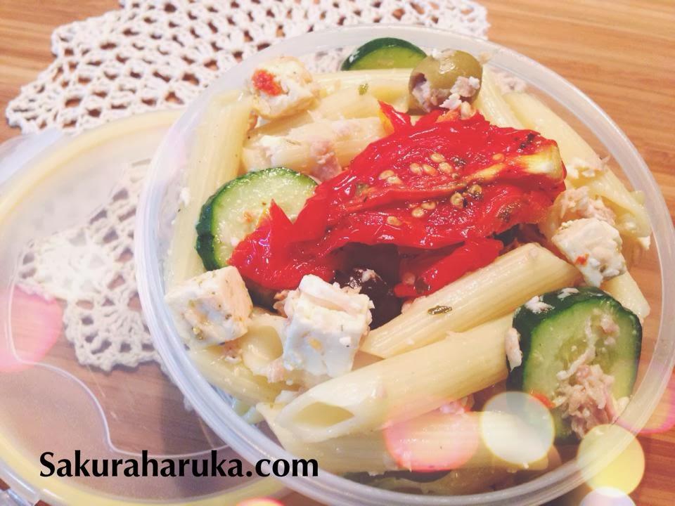 Sakura haruka singapore parenting and lifestyle blog for Cold pasta salad ideas