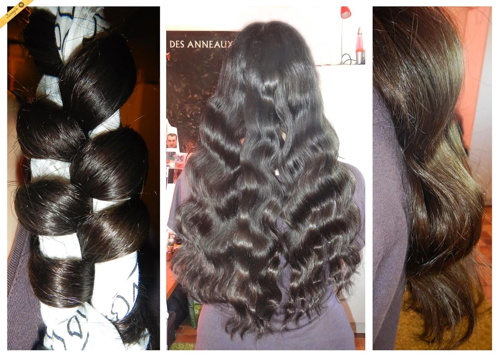Exceptionnel Jungle's Hair : de beaux cheveux au naturel: 9 techniques simples  OG81
