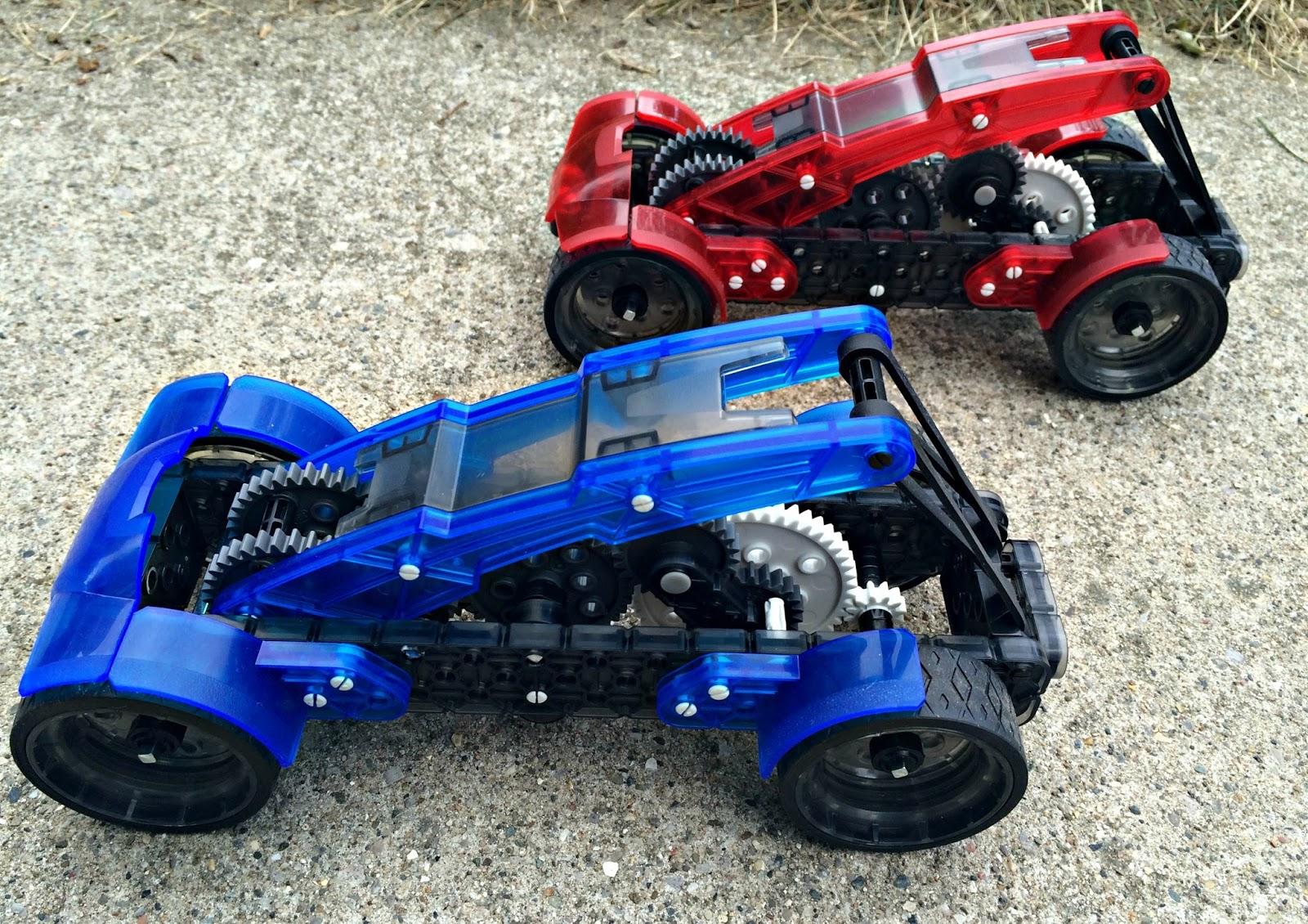 A Geek Daddy Vex Robotics Gear Racers