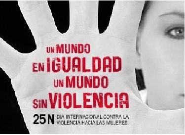 25 de noviembre:Día Internacional contra la Violencia hacia las Mujeres.