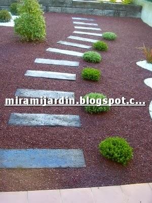 Mira mi jard n 2013 - Piedras de colores para jardin ...