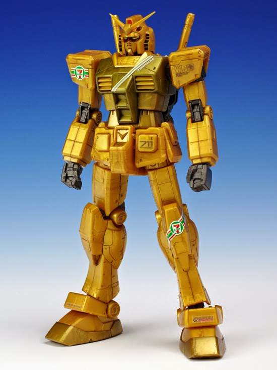 7-11 Exclusive HG 1//144 RX-78-2 Gundam G30th 7-11 Color Version