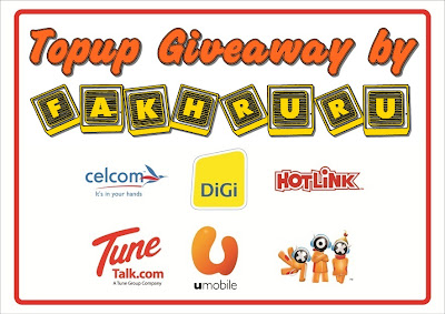"""""""Topup Giveaway by FakhRuru"""""""