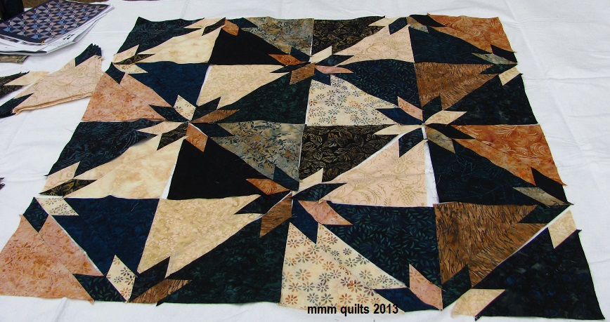 Hunters+Star+Quilt+Block And here's another layout option, with the ...
