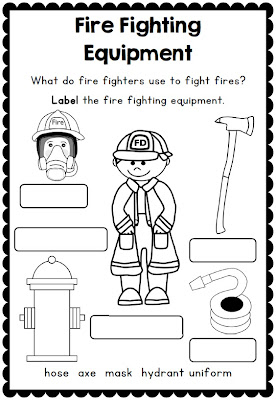Fire Safety Week with Sparky the Fire Dog - Printables for Grades ...