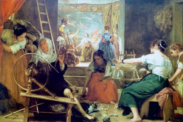 Las Hilanderas de Velázquez en el Museo del Prado