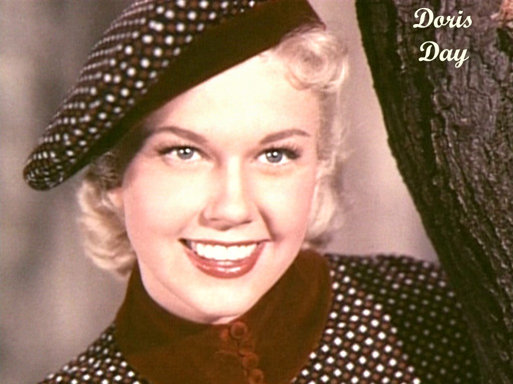 Doris Day eye color