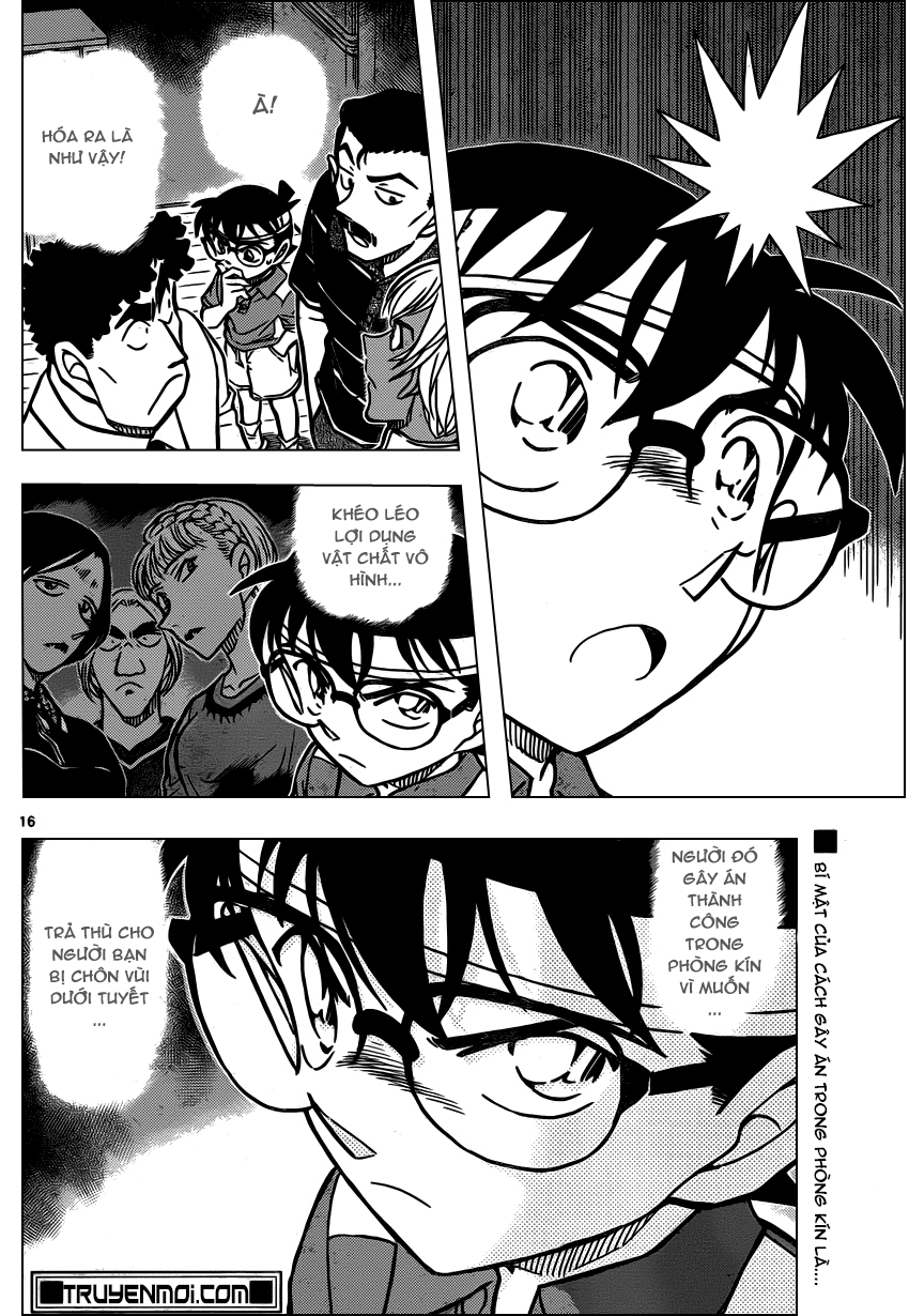 Detective Conan - Thám Tử Lừng Danh Conan chap 826 page 16 - IZTruyenTranh.com