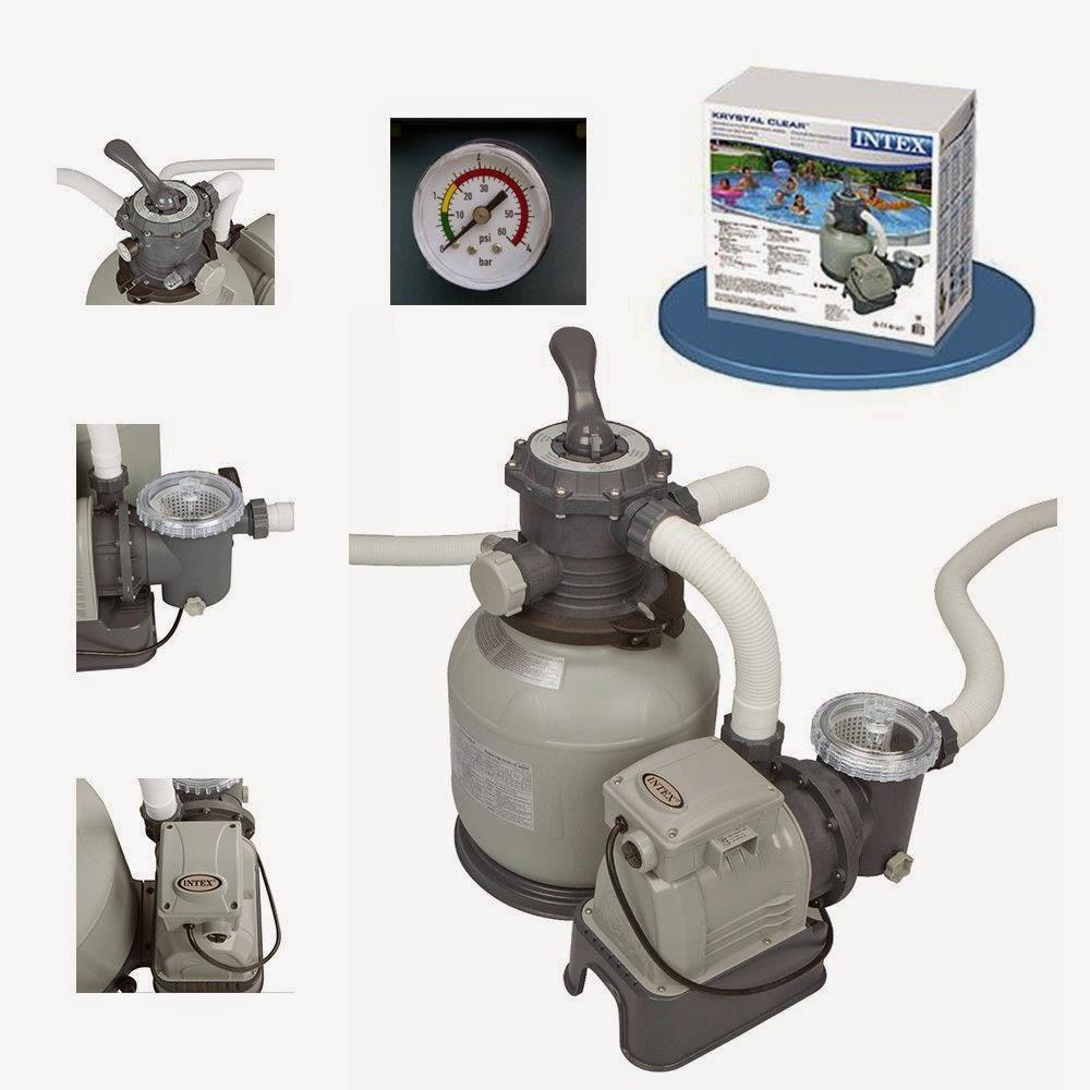 Intex pool pump for Bauhaus sandfilterpumpe