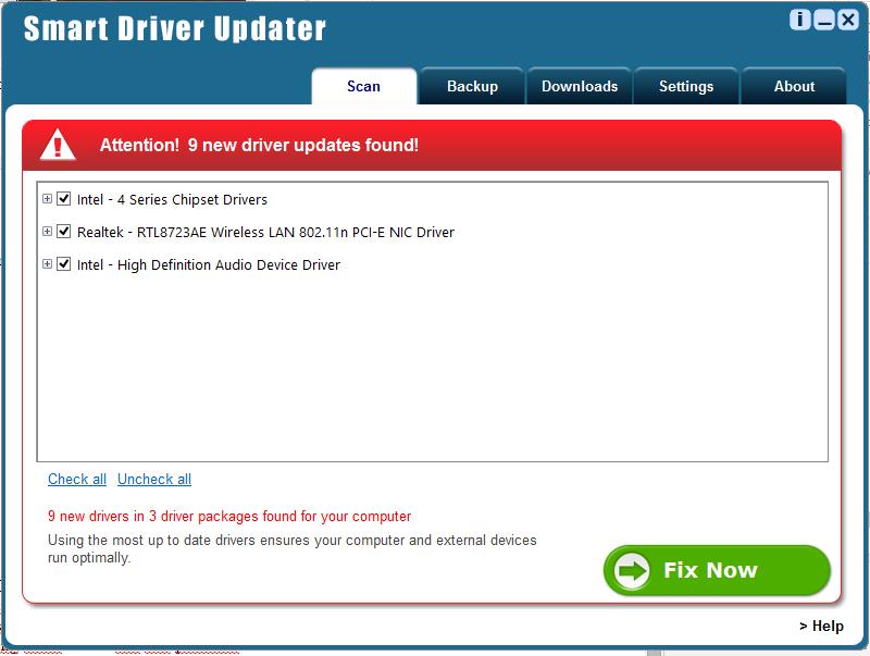 Ключ для driver updater