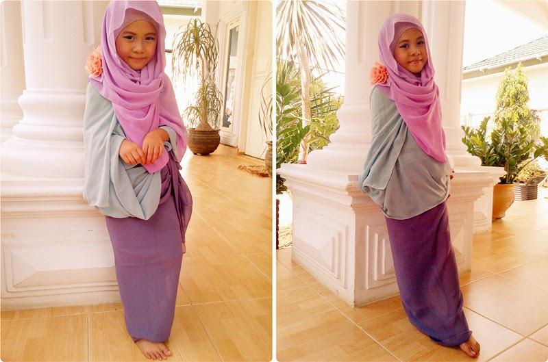 Hijab modern anak perempuan