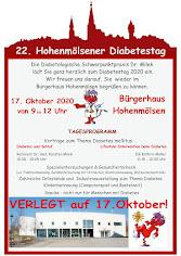 22. Hohenmölsner Diabetestag am 17.10.2020