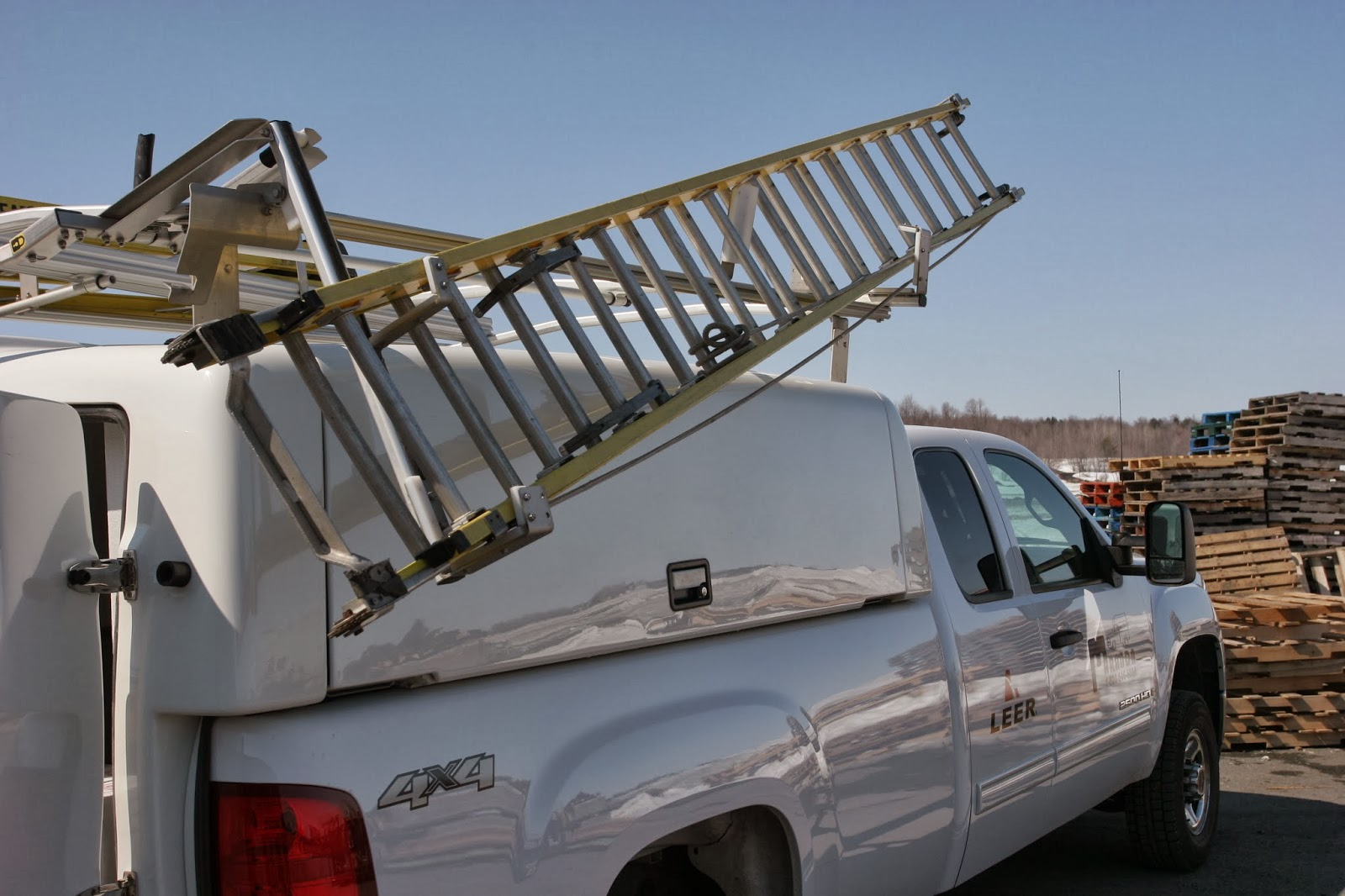 Hydraulic Ladder Rack for Pickup Truck