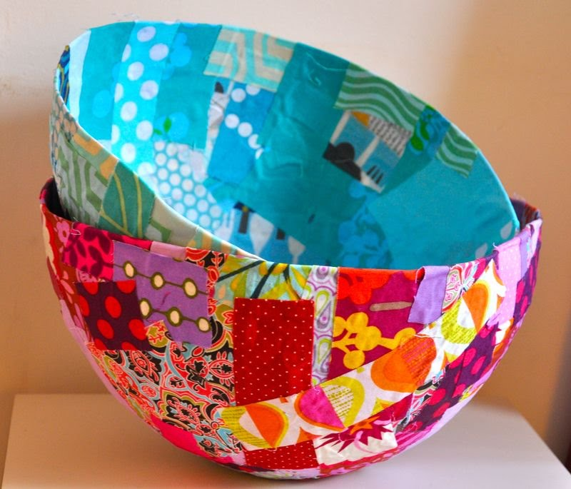 How to make a paper mache bowl munchkins and mayhem for How to make a newspaper bowl