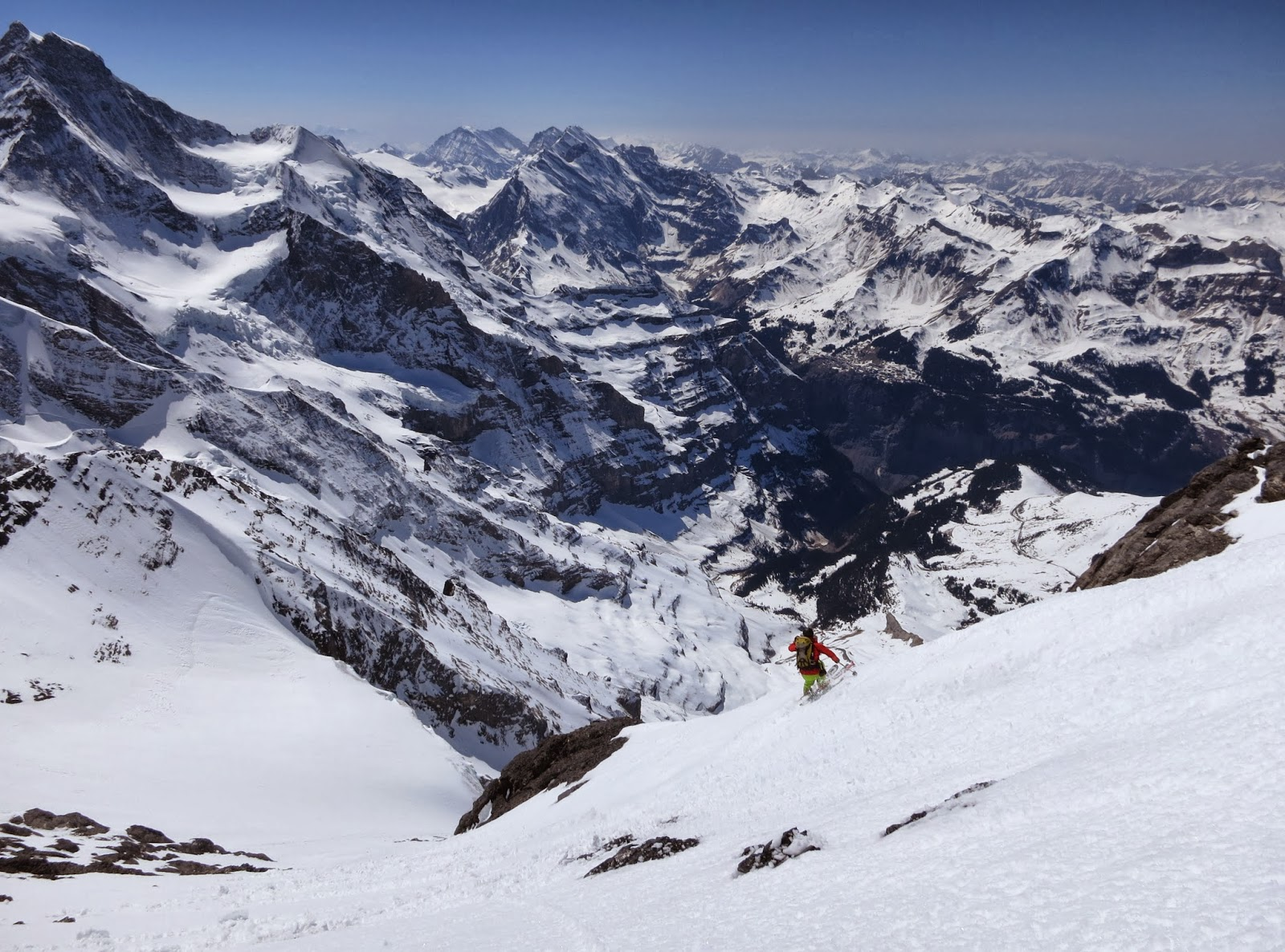 More Eiger ski. & Scottish Climbers: Un-pisted Alpine: 3 Days of Steep Skiing