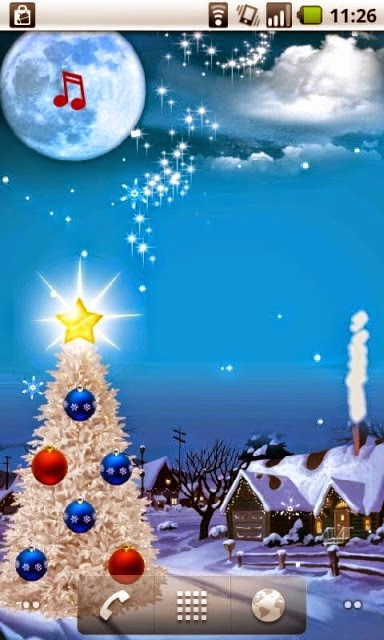 Top christmas wallpaper for android free smartphone merry top christmas wallpaper for android free smartphone voltagebd Images