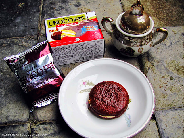 Lotte Choco Pie Marsmellow