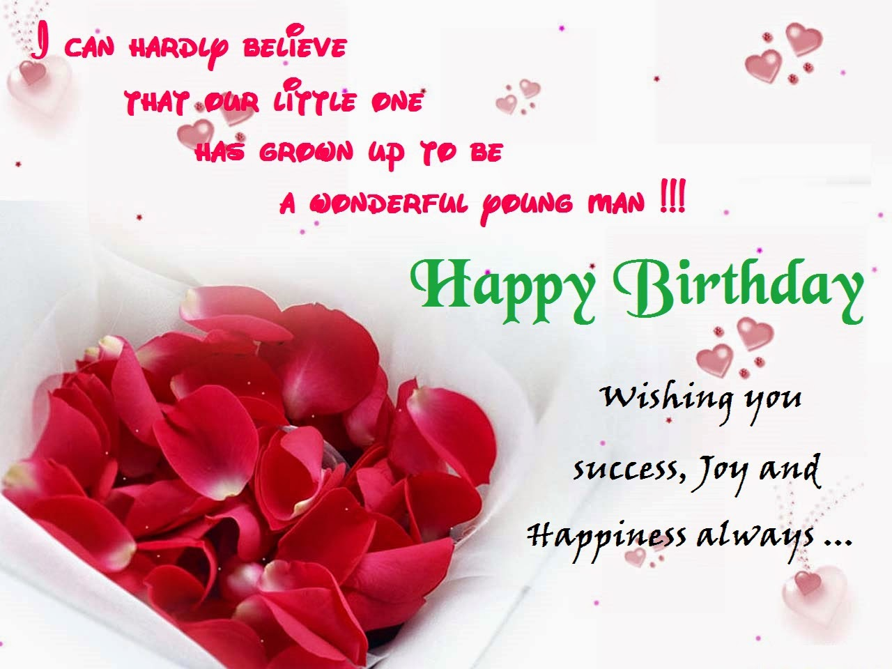 Happy Birthday Greetings Cards Images For You – Wish Birthday Card