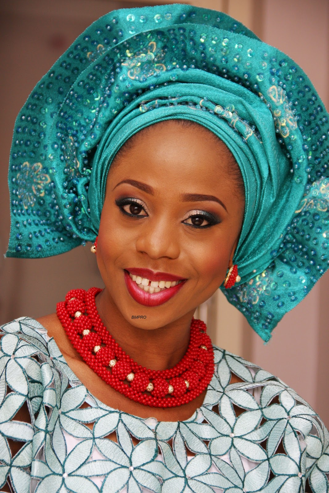 Gele Nigerian Traditional Wedding