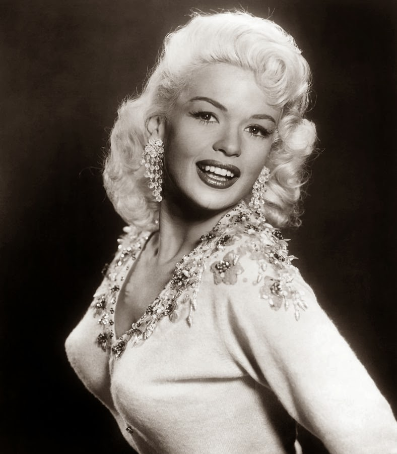 Pin Up Doll Of The Week Jayne Mansfield Tangled In Pearls