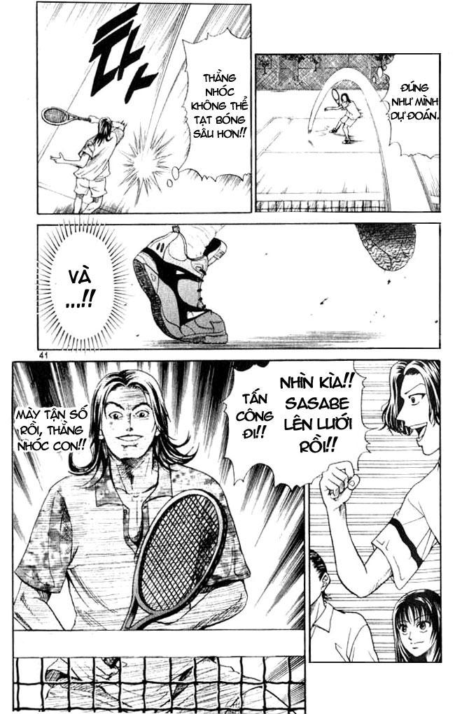 Hoàng tử Tennis Chap 1 - Trang 38