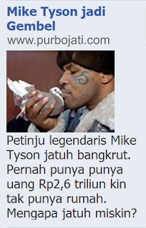 Mike Tyson Menjadi Gelandangan