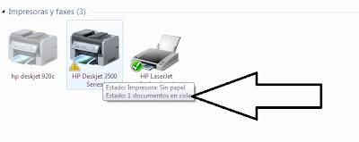 изображение Принтер с документами в очереди