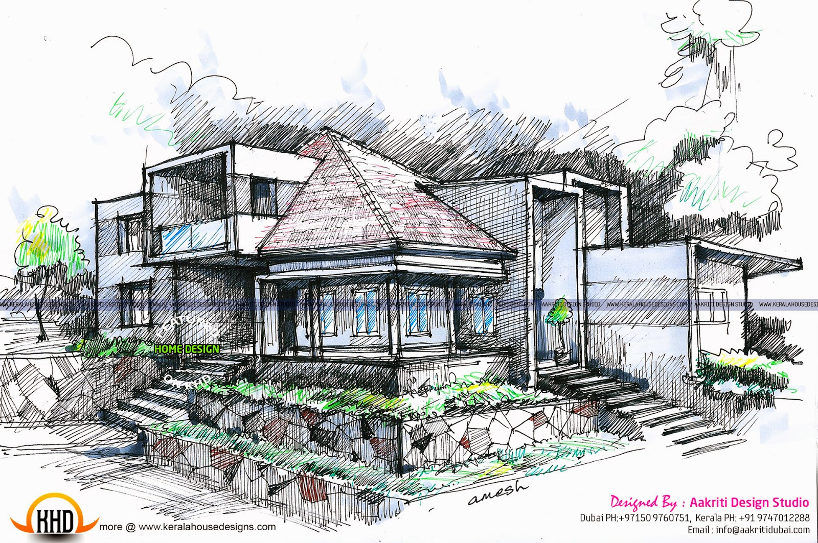 Best Sketch Of Home Design Contemporary   Decoration Design Ideas .