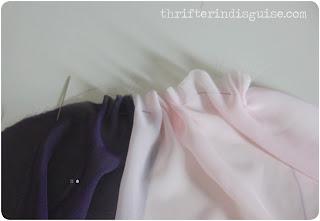 DIY Chiffon Skirt