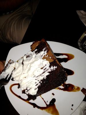 mocha salted caramel cake