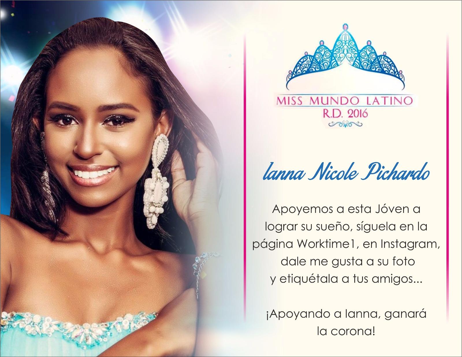IANNA NICOLE PICHARDO