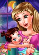 Малыш пора ложится спать - Онлайн игра для девочек