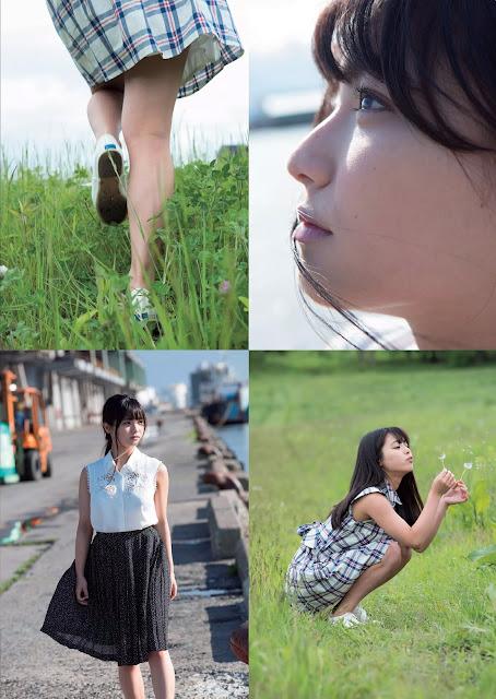 片岡沙耶 Kataoka Saya Weekly Playboy No 36 2015 Pics 2