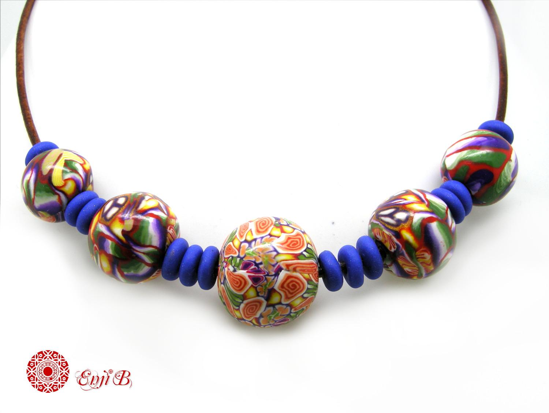 bijoux enji b poids plume color s et graphiques colliers grosses perles des couleurs de. Black Bedroom Furniture Sets. Home Design Ideas