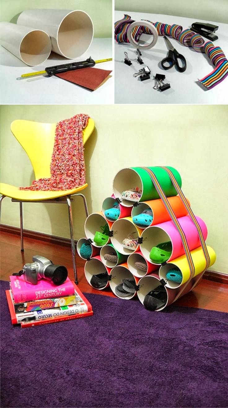 Reciclaje for Ideas para hacer un zapatero