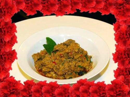 Tumis-tumis Ramadan Chef Sabri, Juadah Aidilfitri, RENDANG DAGING KAMBING, MEE KARI, KOKTEL UDANG HARIMAU
