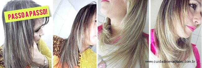 clarear cabelos em casa